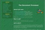 LyX - The Document Processor